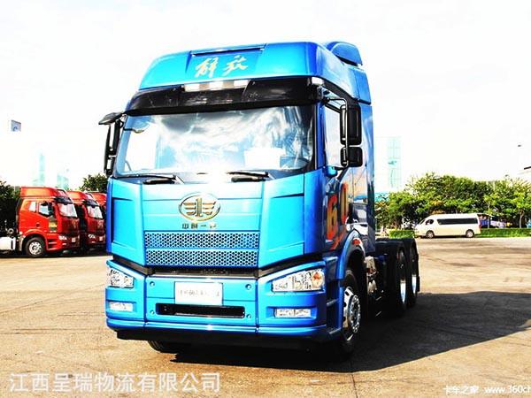 一汽解放 J6P重卡 紀念版 460馬力 6X4牽引車(CA4250P66K24T1A1E5)