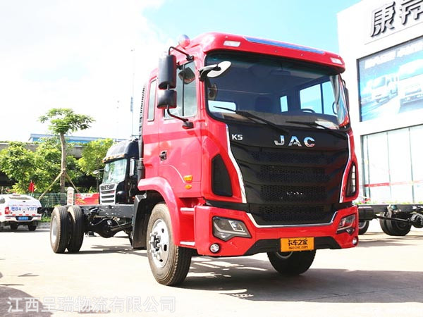 江淮 格爾發K5L中卡  160馬力 4X2排半載貨車底盤(HFC5161XXYP3K1A47V)