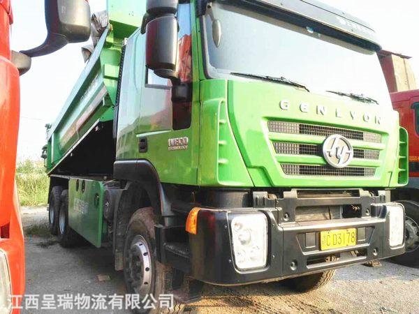 新型環保渣土車b310濰柴   5.8米車廂   馳田頂   輪邊橋