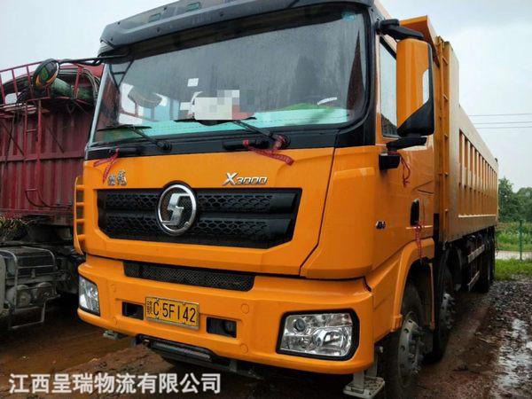 國五新車德龍X3000  430濰柴 .8.8米  1.5米欄板   漢德橋20噸  12檔箱
