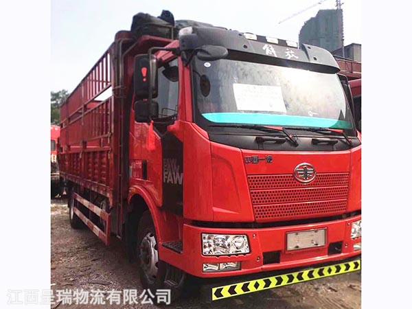 國四車,6.8米貨箱180動力六缸發動機