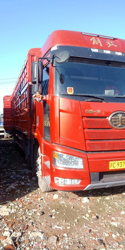 解放領航版460,國五前四后八載貨車9.6米,全車11噸多,售價30萬